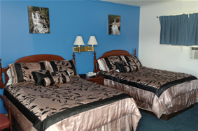 North Conway Lodging NH double beds